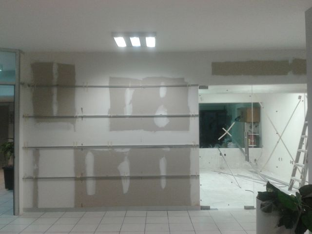 Tablaroca acabado para pintura colocacion de entrecalles - Pintura para aluminio ...